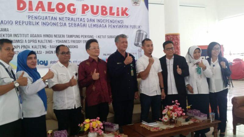 Dialog Publik IAHN TP bersama RRI Palangka Raya