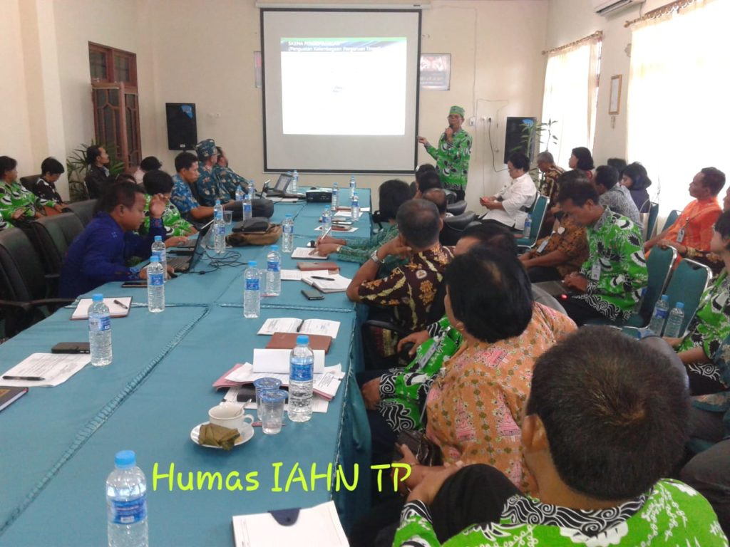 Realisasi Anggaran 2018 IAHN TP Palangka Raya diserap baik