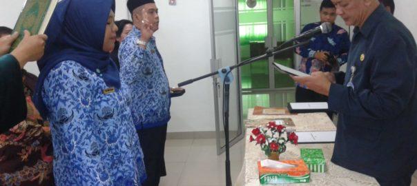 Pelantikan ASN lingkungan IAHN Tampung Penyang
