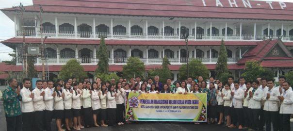 Pembekalan Mahasiswa KKN IAHN-TP Palangka Raya Tahun 2019