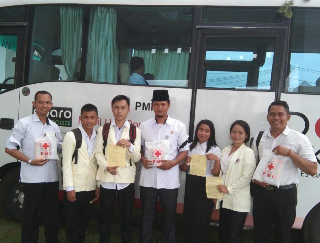 IAHN TP Palangka Raya Kumpulkan 13 Kantong Darah Dies Donor darah