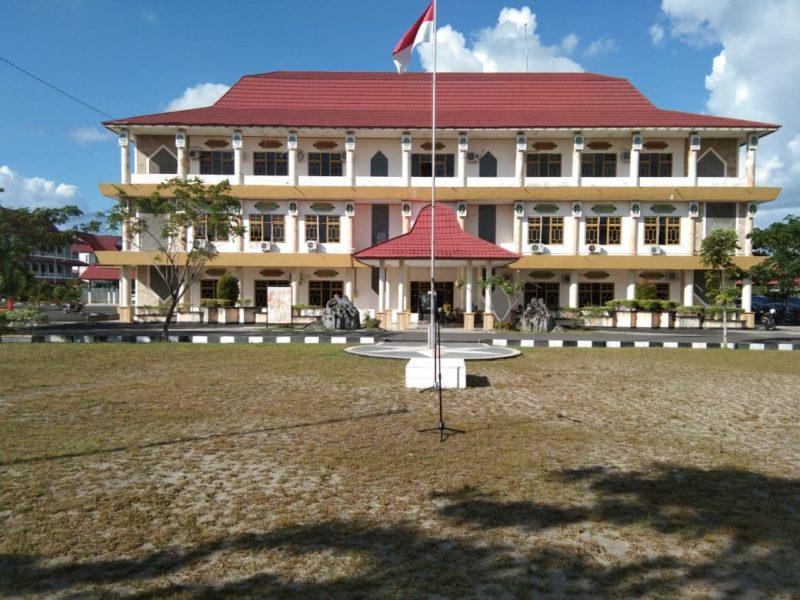 Foto Lapangan Upacara IAHN TP Palangka Raya (dok. Humas)