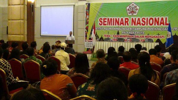 IAHN-TP Palangka Raya Sukses Selenggarakan Seminar Nasional 2019