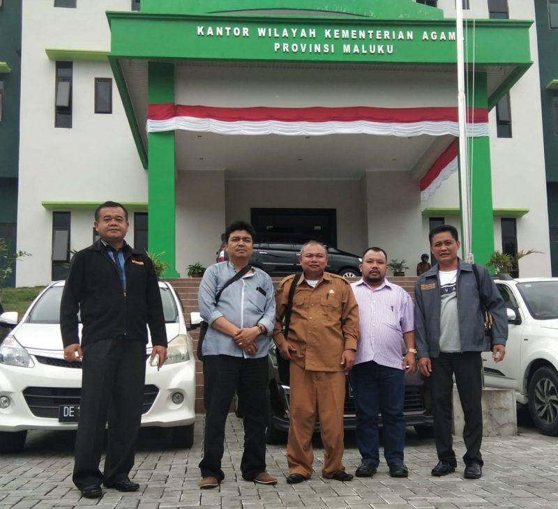 Pembimas Hindu Provinsi Maluku menyambut kedatangan Tim IAHN-TP Palangka Raya