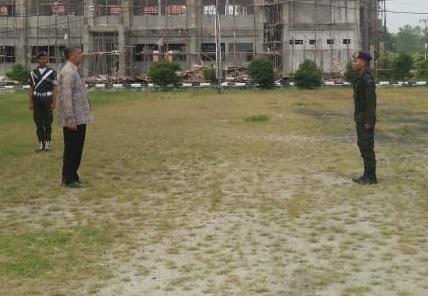 MENWA Satuan 604 Laksanakan Pembaretan Rektor Membuka Kegiatan Pembaretan