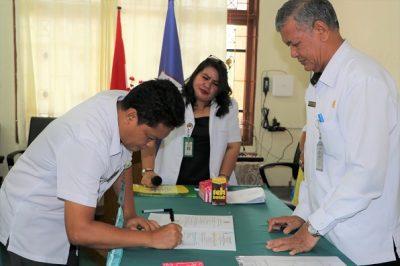 Penandatanganan Perjanjian Kinerja