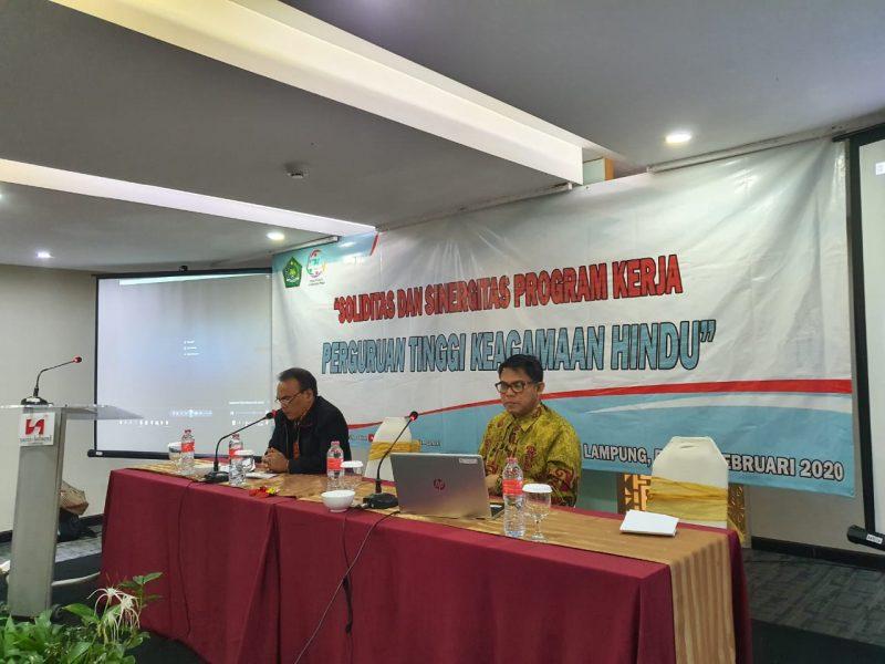 Pertemuan Ditjen Bimas Hindu dan PTKH