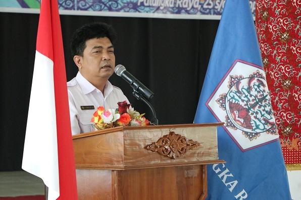 Sambutan Rektor IAHN-TP Palangka Raya yang dalam hal ini diwakili oleh Wakil Rektor I