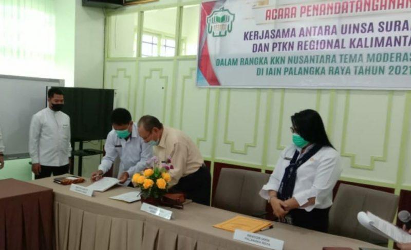 MoU UIN Sunan Ampel Surabaya