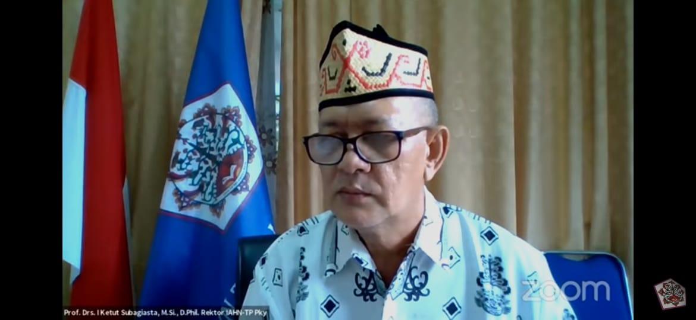 Rektor menutup secara resmi kegiatan OPAK 2021